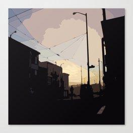 Sunset, San Francisco  Canvas Print