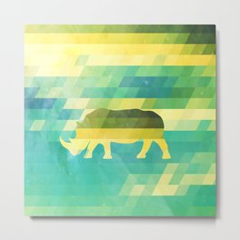Orion Rhino Metal Print