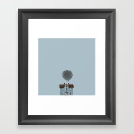 Draw house Framed Art Print