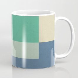 Green Square Coffee Mug