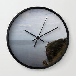 Sea views St. Andrews Wall Clock