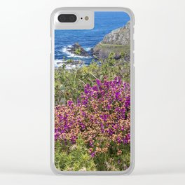 Heather at Cape Cornwall Clear iPhone Case