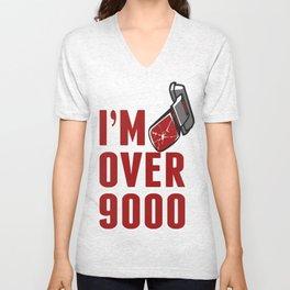 I'm Over 9000 Unisex V-Neck