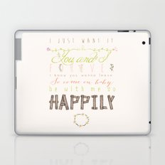 One Direction: Happily Laptop & iPad Skin