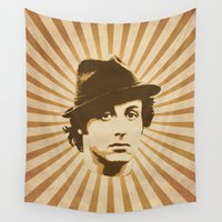 rocky Wall Tapestries featuring Rocky by Durro