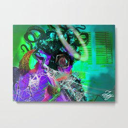 Ancients Series #9 - The Consumed Metal Print
