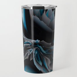 glitchy blossom Travel Mug
