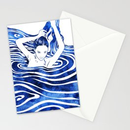 Water Nymph IV Stationery Cards