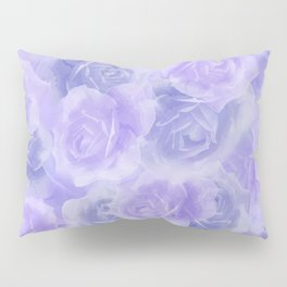Rosey Purple Pillow Sham
