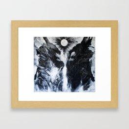 Guardians , threshold Framed Art Print