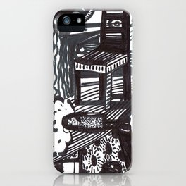 She wandered lowly as a cow. iPhone Case