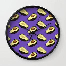 Avocados Are Yummy Wall Clock