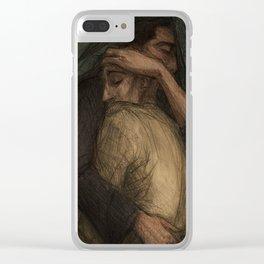 Sleep, El-Orens, sleep... Clear iPhone Case