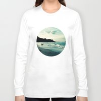 surf Long Sleeve T-shirts featuring Surf by Hilary Upton