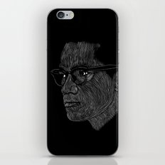 Malcom X iPhone & iPod Skin