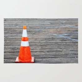 Warning Cone Rug