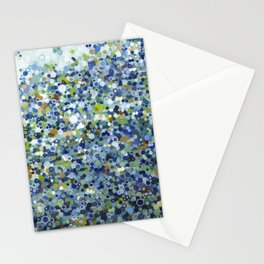 Leo Carrillo Dotted Beach Pattern Stationery Cards