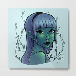 Cool Ivy Metal Print