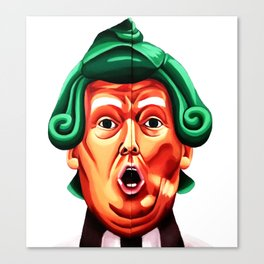 Oompa Loompa Trump Canvas Print
