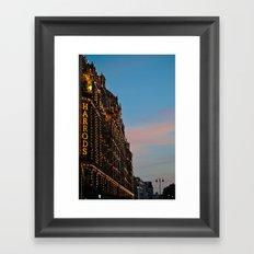 Harrod's Department Store London Framed Art Print
