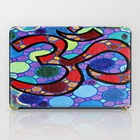 om iPad Cases featuring OM by Art By Carob