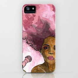 Macy Gray's Greatest Hits iPhone Case