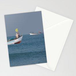 Fishing Boats North Goa Stationery Cards