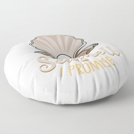 Seashell Collector Gift Shell Shelling Collecting Floor Pillow