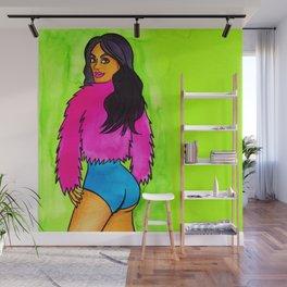 Pink Jacket Wall Mural