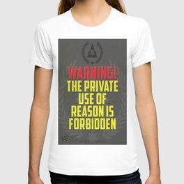 Dystopian propaganda  T-shirt