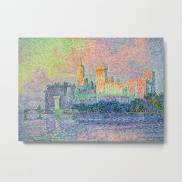 The Papal Palace, Avignon Metal Print