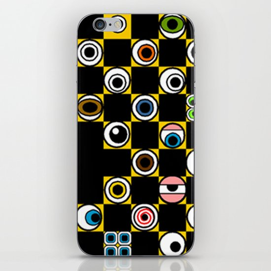 ...BETTER BE UNNOTICED IN THIS COMMUNITY... iPhone & iPod Skin