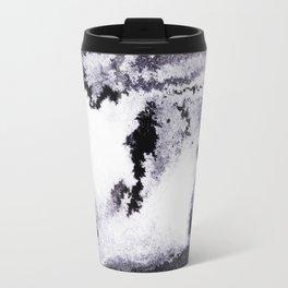 titanium white / carbon black / silver Travel Mug