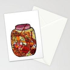 Preserved vegetables Stationery Cards