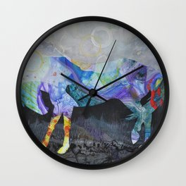 Wild Horse: Look Within Wall Clock