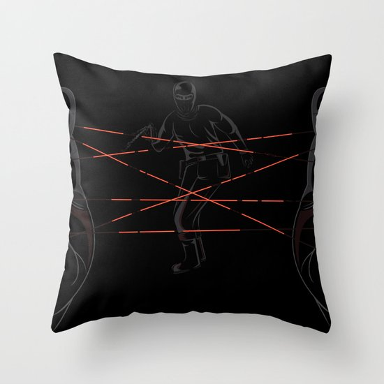 Agent's Cradle Throw Pillow