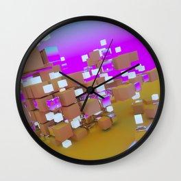 SEGMENTED Wall Clock