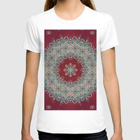 photography T-shirts featuring Mandala Nada Brahma  by Elias Zacarias