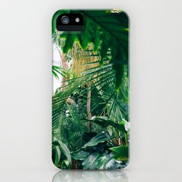 Greenery Jungle (Color) iPhone Case