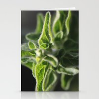 plant Stationery Cards featuring plant by Yael Tal
