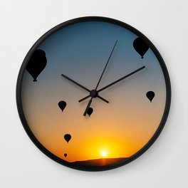 Sunrise in Cappadocia Wall Clock