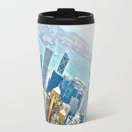 View of Hong Kong Travel Mug
