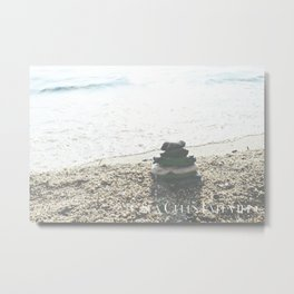 Sea Cures Everything Metal Print