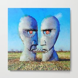 Two faces Metal Print