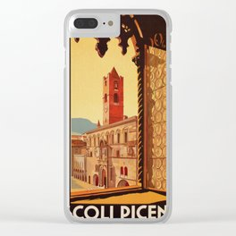Old Ascoli Piceno Clear iPhone Case