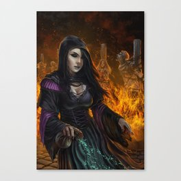 The last witchery Canvas Print