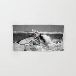 surf santa - wind surf Hand & Bath Towel