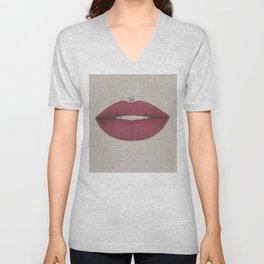 Sexy Mouth Unisex V-Neck
