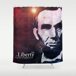 Abraham Lincoln Shower Curtain
