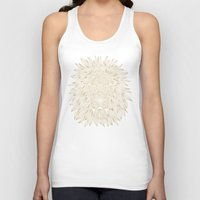 lannister Tank Tops featuring lion / black by Anna Grunduls